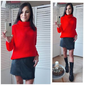 Sweter Neva Rue Paris - Red